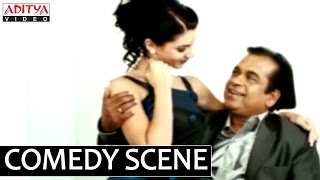 Dhada - Brahmanandam Romance With English Girl in Dhada Movie