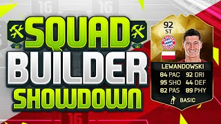 FIFA 16 SQUAD BUILDER SHOWDOWN!!! UPGRADED INFORM LEWANDOWSKI!!! 92 Rated Lewandowski Squad Duel