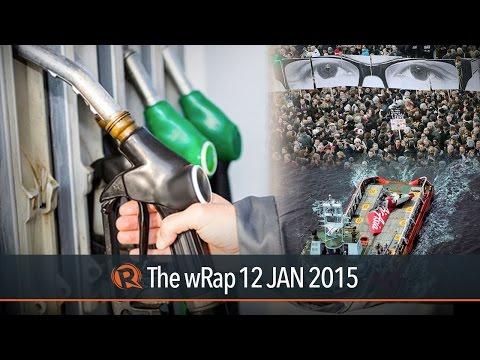 Oil rollback, France makes history, AirAsia black box | The wRap