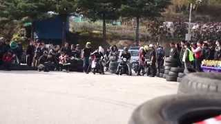 SS1/32MILE Scooter drag racing (KOREA)