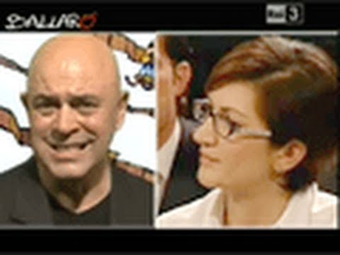 MAURIZIO CROZZA – Ma la Gelmini non ride… – Ballarò 11/01/2011