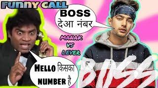 BossJass Manak and Johnny lever funny call Roast v