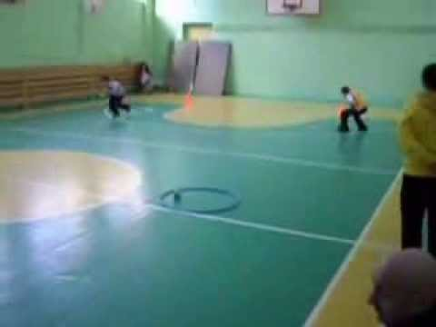 Подвижные игры. Веселые старты округ 2012 3-4 кл.