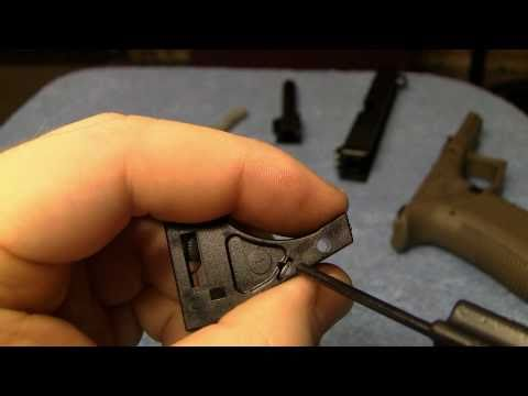 Glock Detail Strip And Reassembly (IN HD)