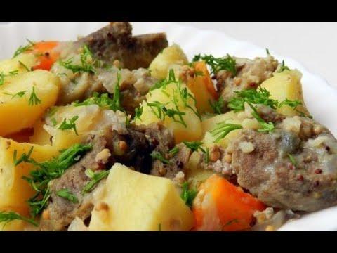 Как приготовить свинину с картошкой - видео
