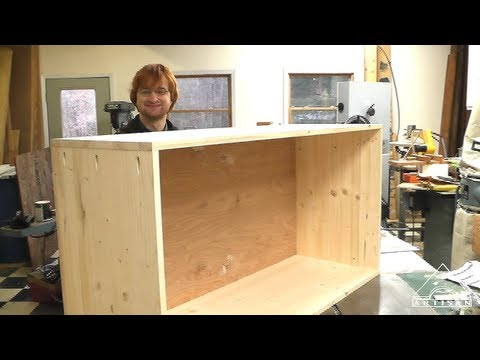 New Easy to Make Cabinet Video up on ArtisanConstruction