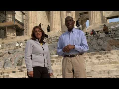GlobeTrotter Travel with Jon Haggins in Athens Greece Pt 1
