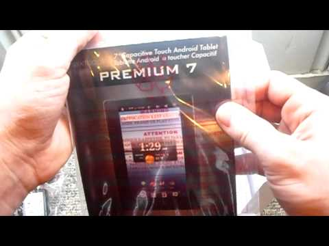 "Unboxing Nextbook premium 7"" android internet tablet"
