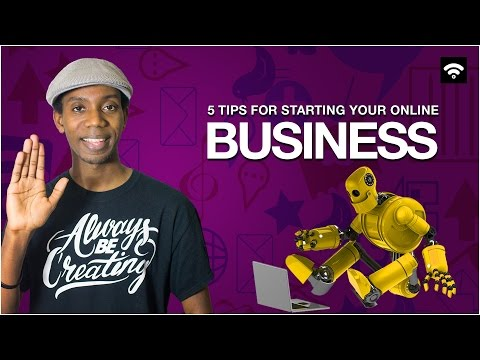 5 Tips for Starting an Online Business