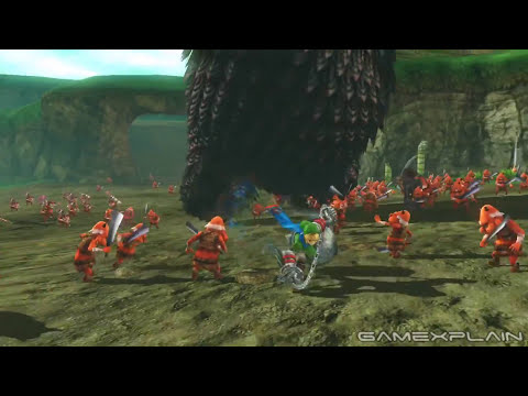 Hyrule Warriors: Link & Ball and Chain Trailer (Wii U)