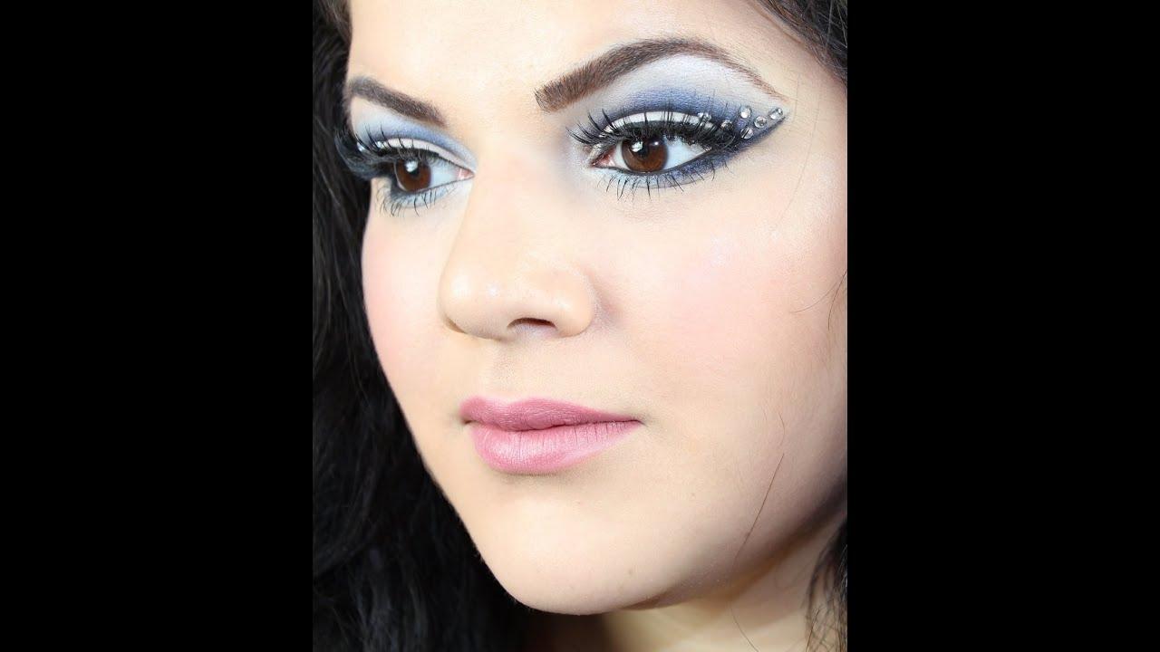 Snow Queen Makeup For