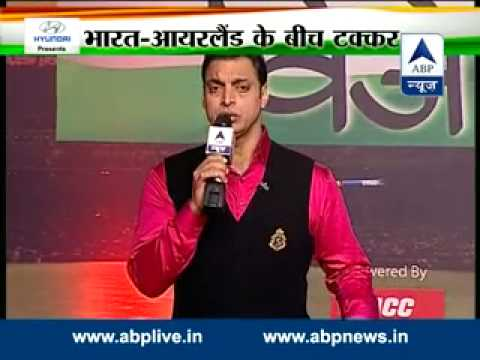 Vishwa Vijeta II Shoaib Akhtar with ABP News straight from Worli Sports Club, Mumbai
