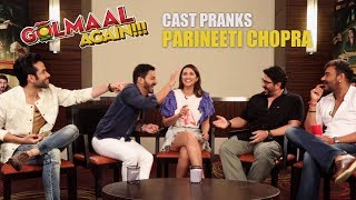 download lagu Golmaal Team's Hilarious Prank On Parineeti Chopra  Golmaal gratis