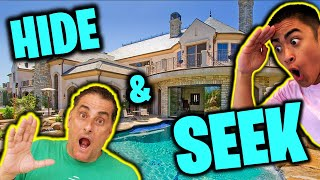 HIDE and SEEK vs OUR PARENTS!!!  *MANSION*
