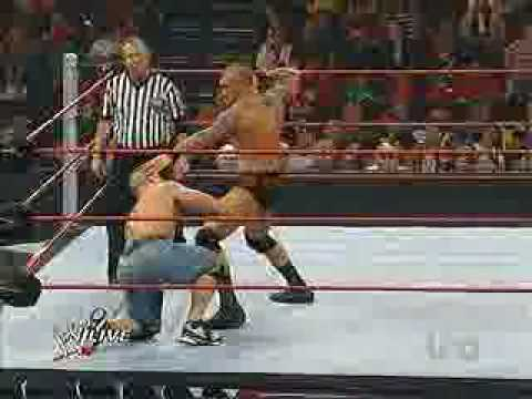 WWE RAW 14/12/09 John Cena vs Randy Orton 1/2 [EN ESPAÑOL]