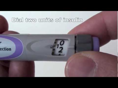How to use SoloStar Pen for Injecting Lantus (Glargine) and Apidra (Glulisine) Insulin