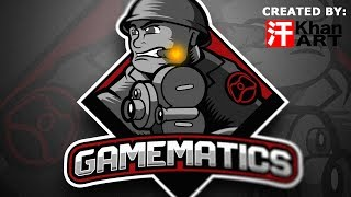 Gamematics New Logo Time Lapse