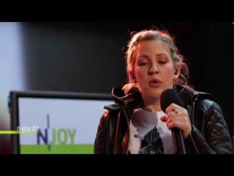 Ellie Goulding - Burn (Live at NJOY Radio)