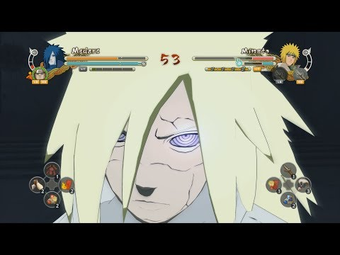 Naruto Storm 3: Full Burst - Holy Madara Vs Sage Mode Minato video