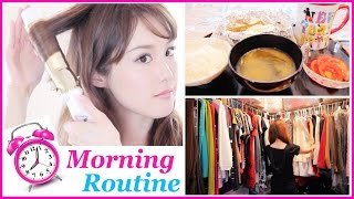 【Get Ready with Me: Morning Routine!】Skincare, Healthy Breakfast, Makeup, Hair, & Fashion