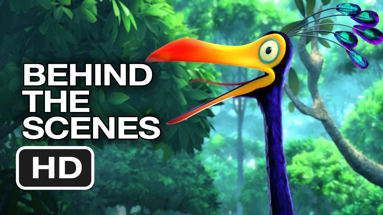 Up 3D Behind the Scenes - Kevin the Bird (2009) - Ed Asner ... Kevin Up Bird Noise