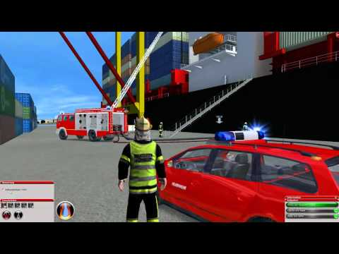 Feuerwehr Simulator 2010 - Hafen [ Mission 11 ]
