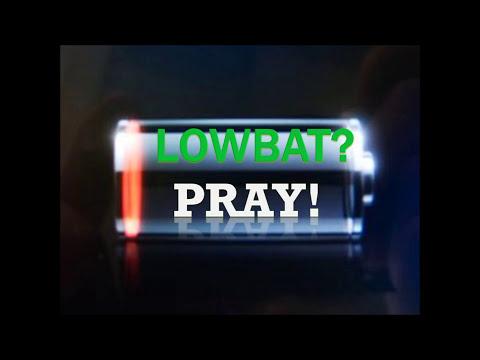LOWBAT? PRAY! - Ed Lapiz