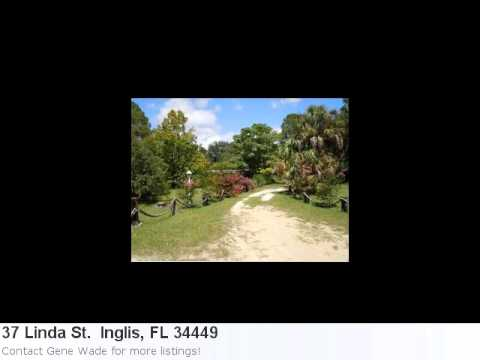 Cute Home For Sale In Inglis, Fl. 2 Bedroom, 2 Bath Located