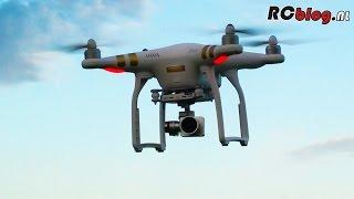 Vliegen Met De DJI Phantom 3 Professional