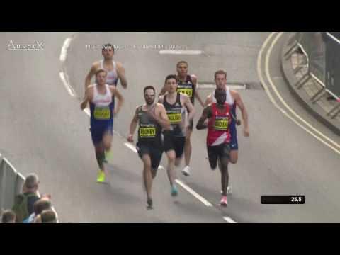 David Rudisha 57.69 500m world best Great North Run 2016