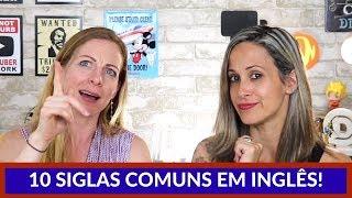 10 SIGLAS que facilitam a COMUNICAÇÃO! Feat: TEACHER ALLIE
