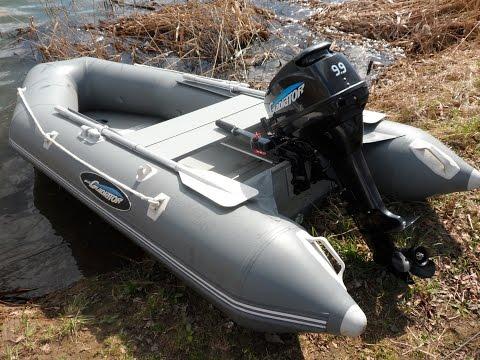 Лодочный мотор Гладиатор  9.9-15. Обзор. обкатка.