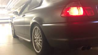 E46 330i Sick Sound Straight Pipes