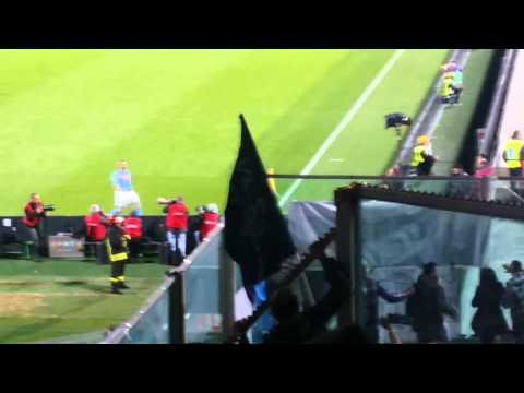Fiorentina - Napoli 0-1 (Higuain - settore ospiti)