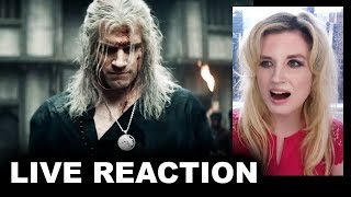The Witcher Netflix Trailer REACTION - Comic Con