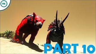 Taming Alpha Thylacoleo dan Alpha Triceratops!!! - Ark: Gondor Part 10