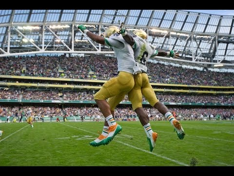 Notre Dame | Navy Highlights - 2012
