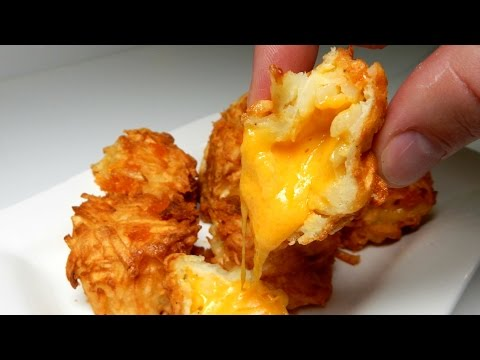 How To Make CHEESY TATER TOTS At Home - iNSPIRE to cOOk thumbnail