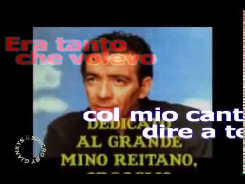 Mino Reitano - Italia (karaoke - fair use)