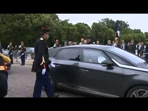 Julie Gayet accompagne François Hollande en déplacement