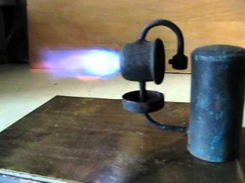 Как сделать трубу для паяльной лампы