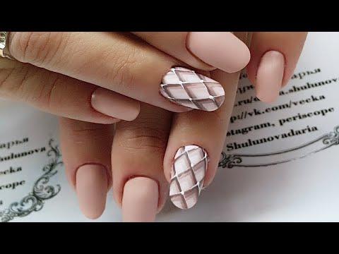 Простой и быстрый дизайн ногтей для начинающих мастеров