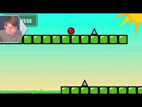 RED BOUNCING BALL SPIKES (iPhone Gameplay Video)
