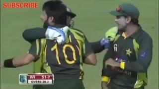 Shahid Afridi 7 Wickets Vs West Indies in 2013(Pak Vs Wi 1st ODI Highlights ) | Habbi Malik | HMS