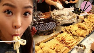 REAL Authentic Korean Street Food!!