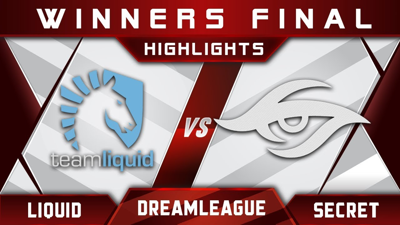 Liquid vs Secret Winners Final DreamLeague 8 Major 2017 Highlights Dota 2