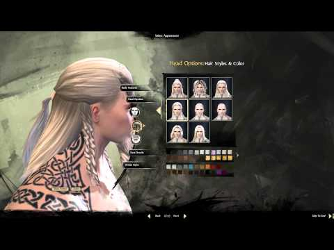 Guild Wars 2 - Norn Character Creation