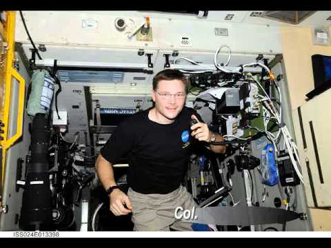 Amateur Radio contact with NA1SS - International Space Station