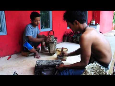 Cara Pembuatan Tas Anyaman [Vernish]
