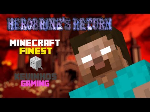 Minecraft: Herobrine's Return! w/ KevinhosGaming - Episode 1 - Flying Creepers?!?!
